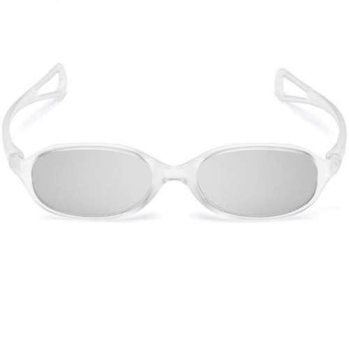 AG-F340 Led Cinema 3D Glasses - Clear Frame