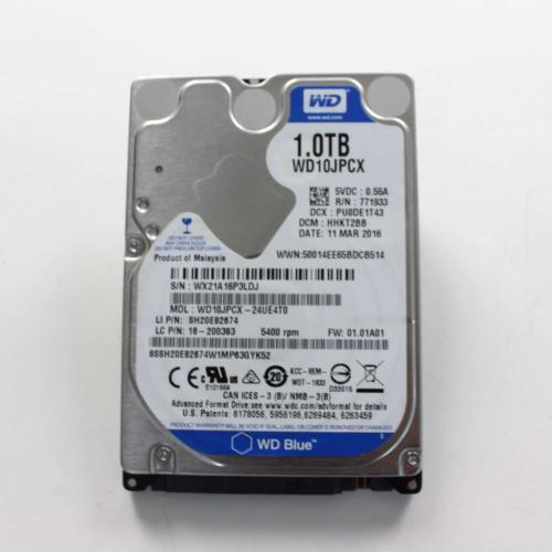 16200429 1Tb Hdd 5400Rpm Sata 3Gbps 8Mb Cache (5