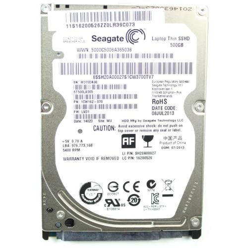 16200526 Hdd St500lx005 6G 7Mm 500G 16G