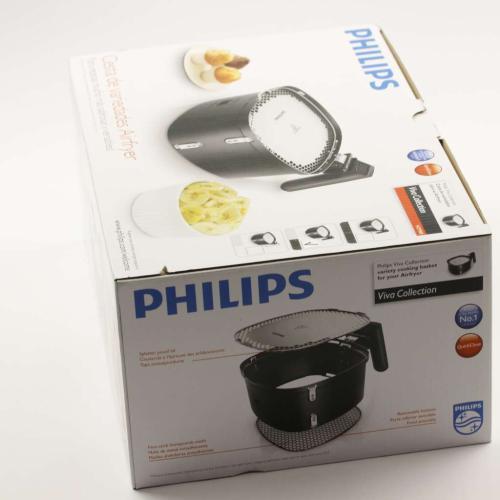 HD9980/25 Variety Basket-silver/black Hd