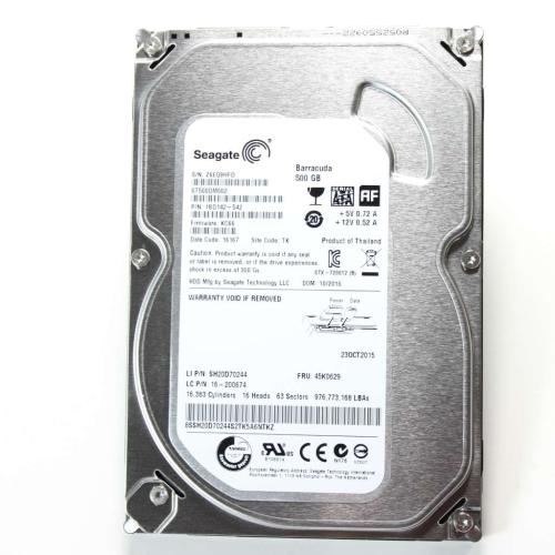 45K0629 500 Gb Seagate Stat Hard Drive