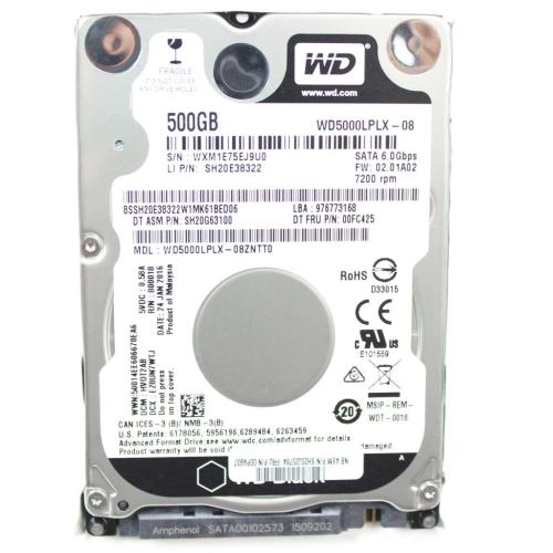 00PA937 Hd Hard Drives