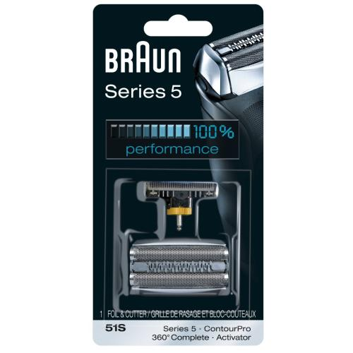 81515102 51S Braun Foil And Cutter Kit