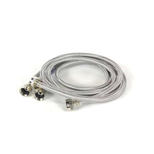 BL310 2-6 Ft Braided Stainless Steel Washing Machine Fill Hoses