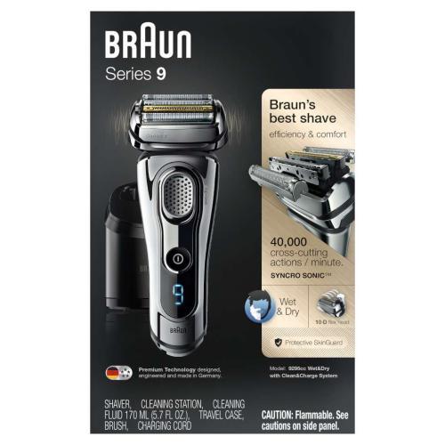 81638394 9295Cc Wet & Dry Shaver W/ Case