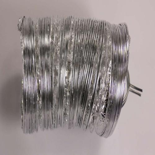 DN101 Lint Bucket W/5' Aluminum Duct & 2 4