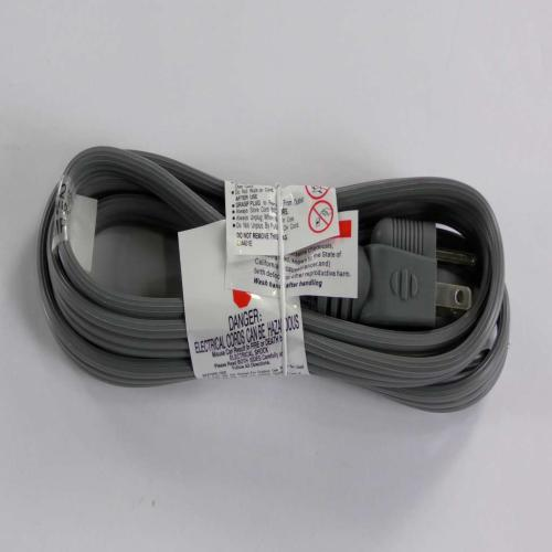 C56 6' Power Cord Straight Cap-105c Tinned Ends