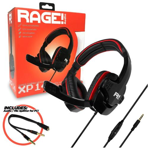 RA-7340 Red Rage! Xp14 Headset