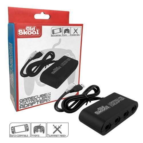 OS-7111 Black Gamecube Controller Adap