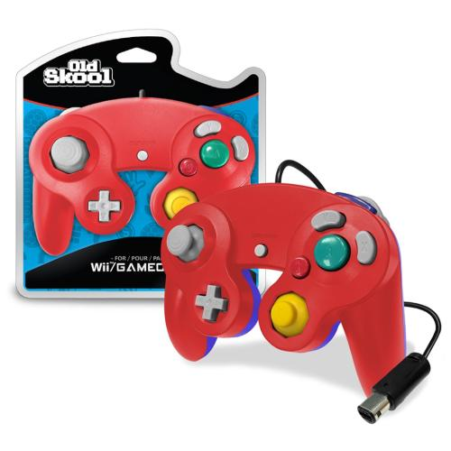 OS-7210 Nintendo Gamecube Controller Red/blue