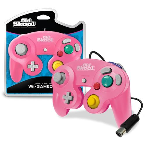 OS-7500 Nintendo Gamecube Controller Pink/magenta