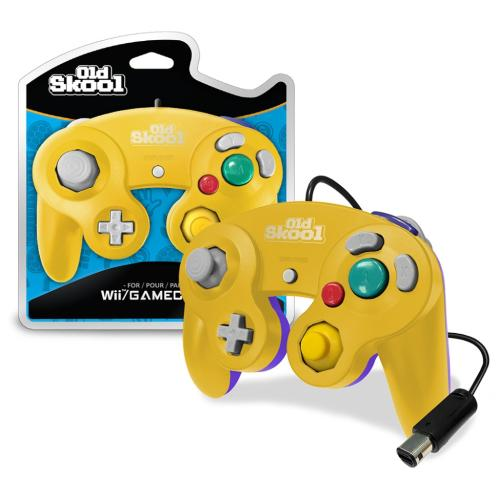 OS-7517 Nintendo Gamecube Controller Yellow/purple