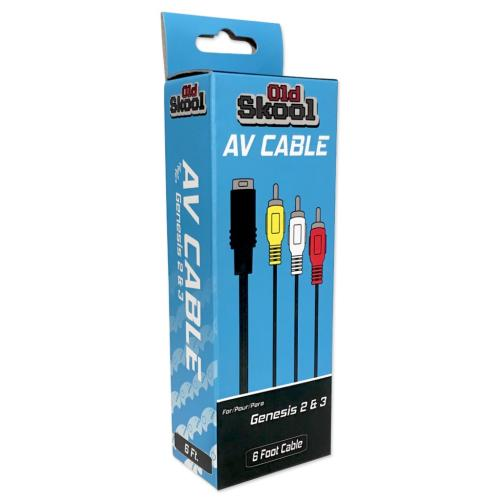 OS-2185 Sega Genesis 2/3 Av Cable