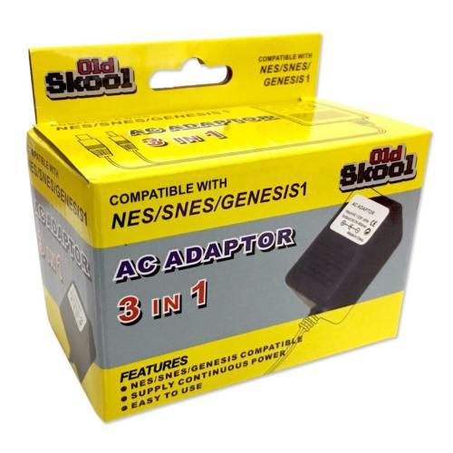OS-2260 Sega 3 In 1 Ac Adapter (Snes, Nes, Genesis 1 )Main