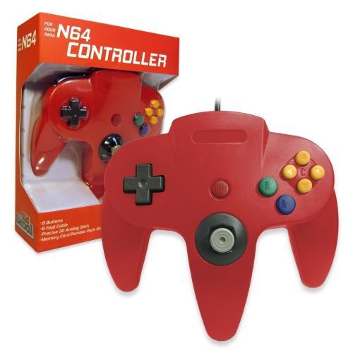 OS-6558 Nintendo 64 Controller Red