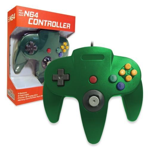 OS-6565 Nintendo 64 Controller Green