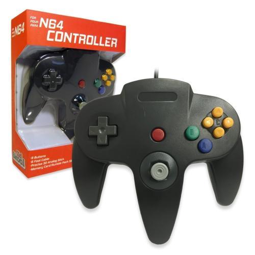 OS-6596 Nintendo 64 Controller Black
