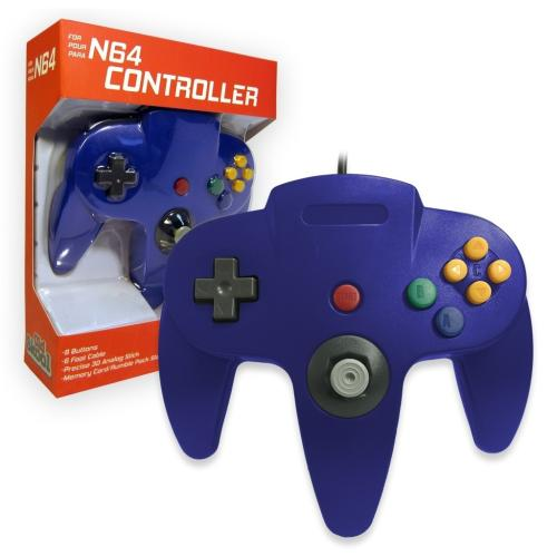 OS-6619 Nintendo 64 Controller Blue