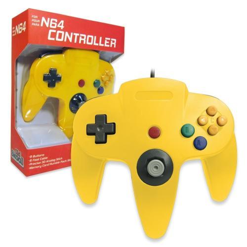 OS-6664 Nintendo 64 Controller YellowMain