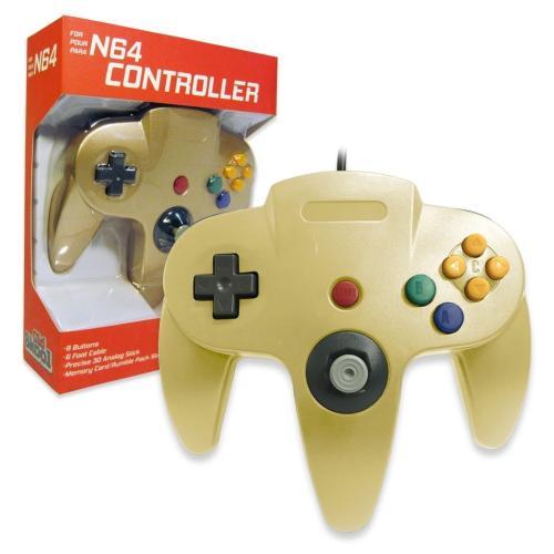 OS-6671 Nintendo 64 Controller Gold