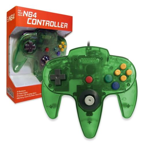 OS-6701 Nintendo 64 Controller Jungle Green