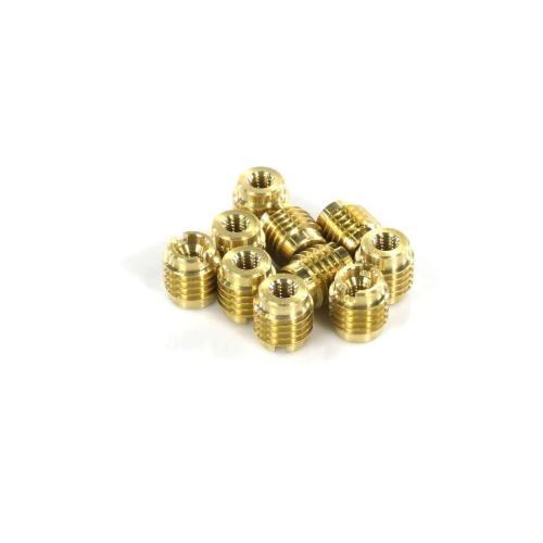 95631A100 M5 X 0.8 Brass Tapping - 10 Pk