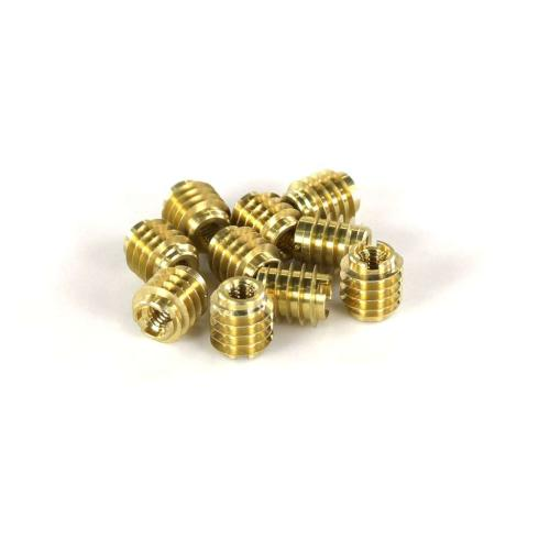 95631A075 M4 X 0.7 Brass Tapping - 10 Pk