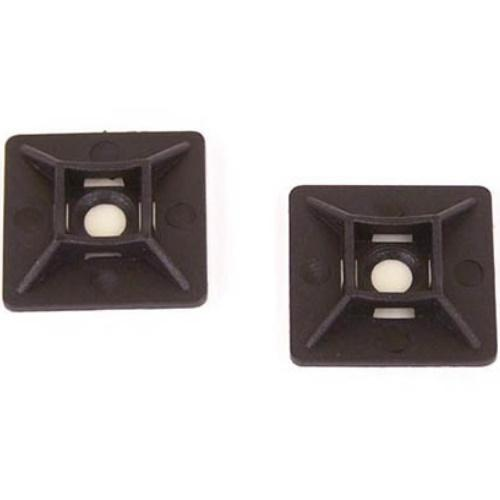 ACMB11C-0 1 Inch Cable Tie Mount: Black/bag Of 100