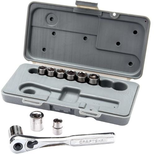 2307270 Metric 10 Pc. 3/8 In. Drive Socket Set