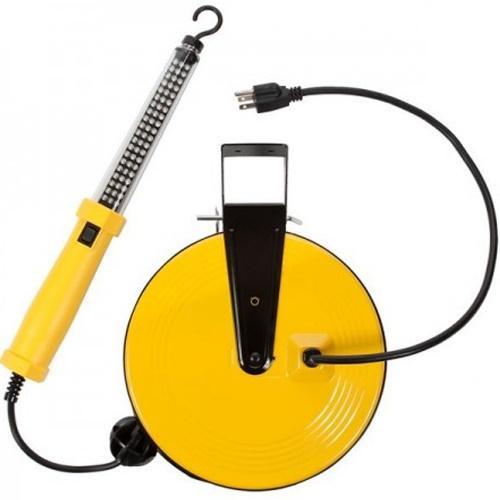 SL-864 60 Led Work Light On Metal Reel