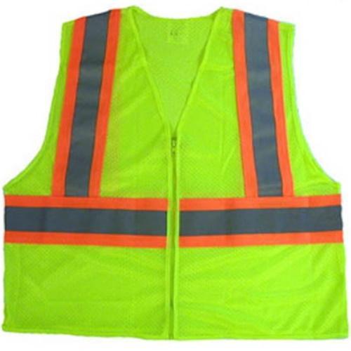 CLIISV Class 2 Neon Green Safety Vest