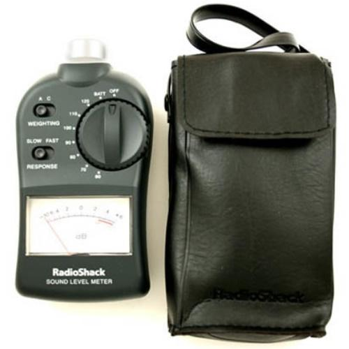 33-4050 Analog Sound Meter