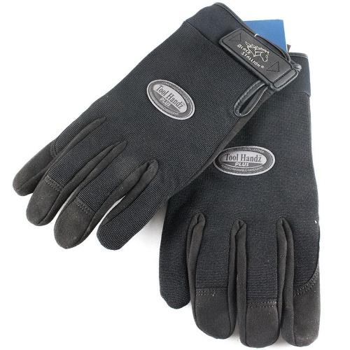 99PLUS-BLK-XXL Xxl Mechanic Gloves