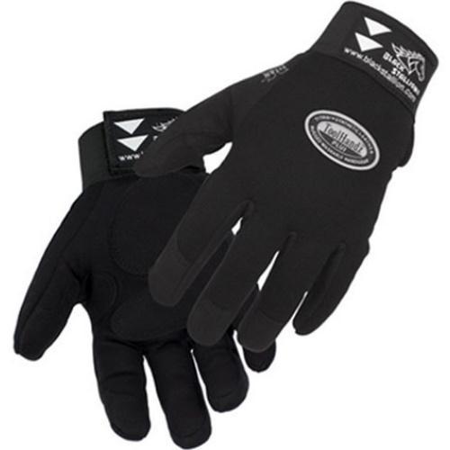 99PLUS-BLK-M Medium Mechanic Gloves
