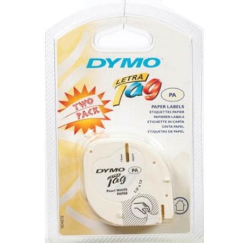 10697 Dymo 2Pk Paper Label Refill Tape