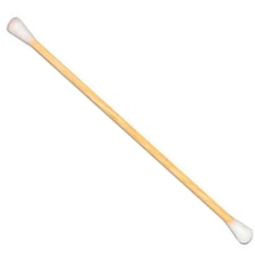 CT200 Wood Handled Double Head Swab: 100Pk