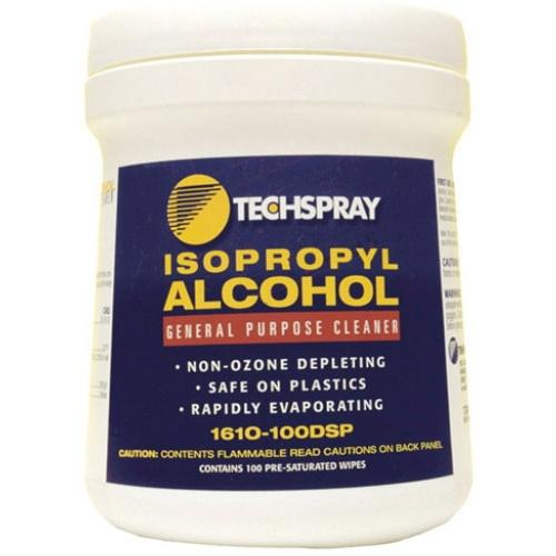 1610-100DSP 100Pk Isopropyl Alcohol Wipes
