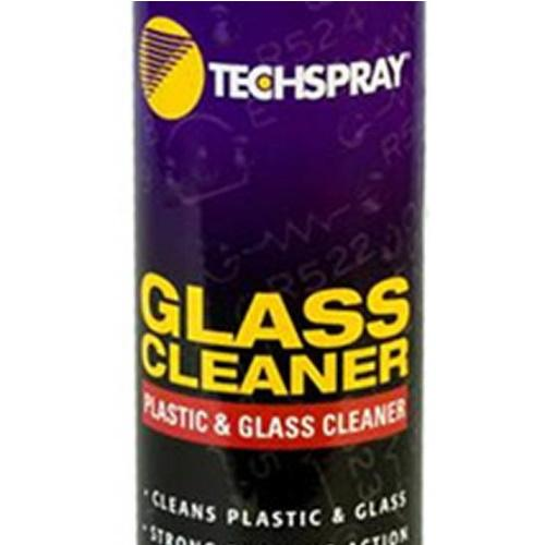 1625-18S Techspray Plastic/glass Cleaner: 18Oz