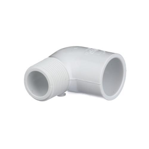 TP-PVC-410007A 410-007 3/4-Inch Mipt X Slip 90 Elbow Street Ell Pvc 40; Tp-pvc-410007a