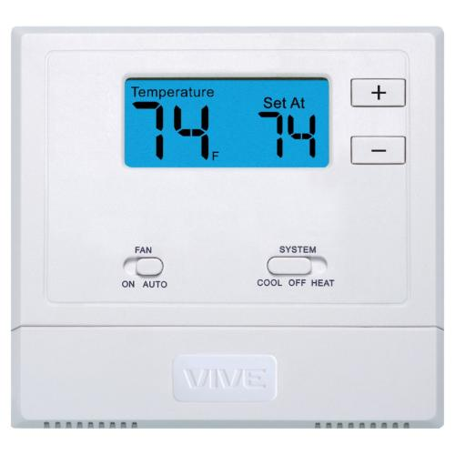 TP-N-601 Vive, Non-programmable, 1H/1c, With Mechanical Knob Adjustment Setpoint