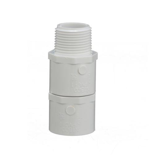 TP-PVC-436007A 436-007 3/4-Inch Mipt X Slip Male Adapter Pvc 40;Tp-pvc-436007a