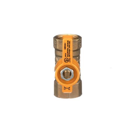 TP-GC-1212FF-V Gas Shut Off Valve, 1/2-Inch Fip X 1/2-Inch Fip