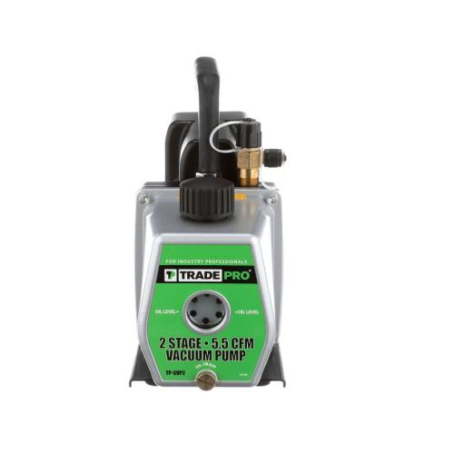TP-5VP2 Vacuum Pump, 5.5 Cfm, 1/2 Hp, 110/220V, 50/60Hz