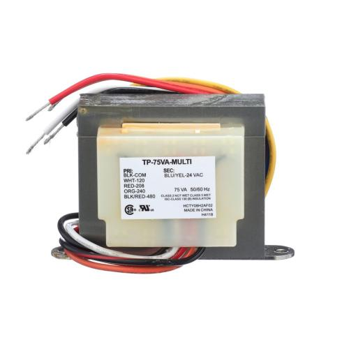 TP-75VA-MULTI 120-208-240-480/24V 75Va Transformer Leads