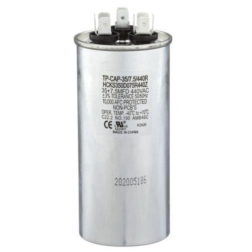 TP-CAP-35/7.5/440R 35+7.5 Mfd 440 Volt Round Run Capacitor