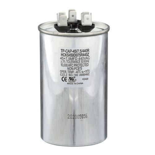 TP-CAP-45/7.5/440R 45+7.5 Mfd 440 Volt Round Run Capacitor