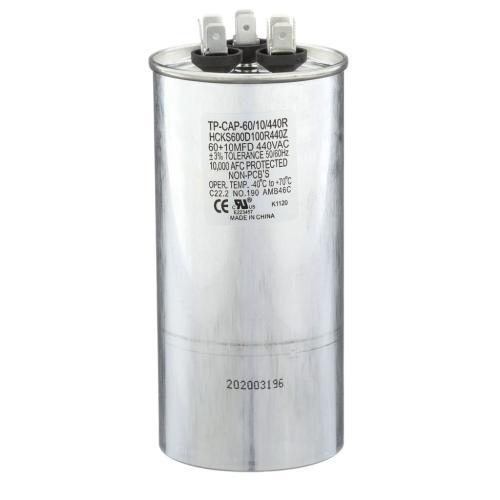 TP-CAP-60/10/440R 60+10 Mfd 440 Volt Round Run Capacitor