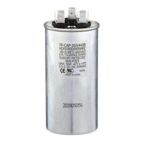 TP-CAP-35/5/440R 35+5 Mfd 440 Volt Round Run Capacitor
