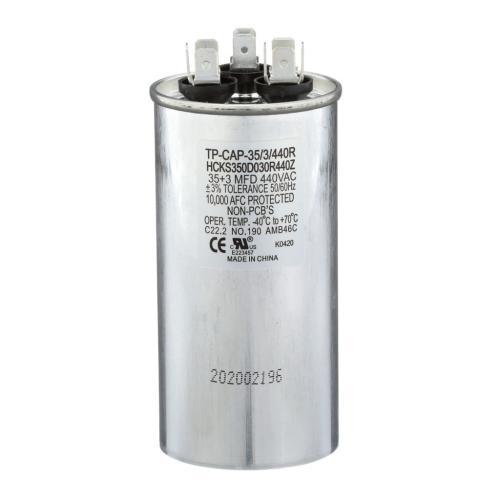 TP-CAP-35/3/440R 35+3 Mfd 440 Volt Round Run Capacitor