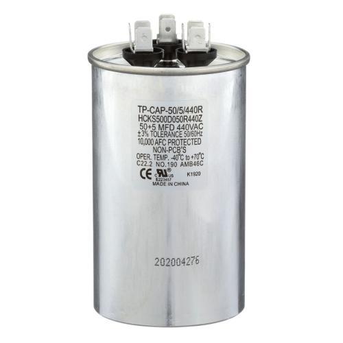 TP-CAP-50/5/440R 50+5 Mfd 440 Volt Round Run Capacitor